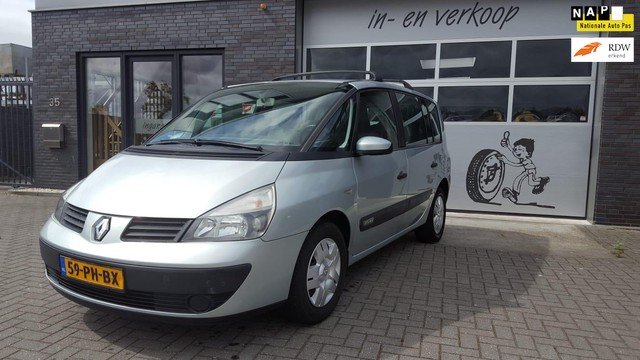 Renault Espace 2.0 Expression 7 persoons!!